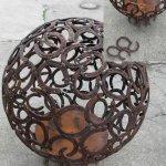 Feuerkugel, Durchmesser 82 cm