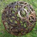Hufeisenkugel, Durchmesser 65 cm