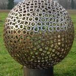 Unterlegscheibenkugel, Durchmesser 82 cm