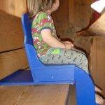 Sitzbankerhöher für Kleinkind