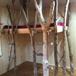 Kinderzimmer, Bäumiges-Hochbett in Esche