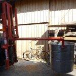 Stapleraufbau für Weinstande
