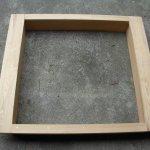 Sandkasten, Akazie, 120 x 120 cm