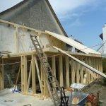 Komplettrenovation,Ständerbauweise und Lignatur