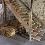 Treppe Rustikal in Eiche