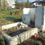 Gartenhausrenovation in Ständerbauweise