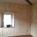 Altbau Renovation 20cm Dämmung, Schallschutzfenster, Bodenriemen überschliffen und geölt