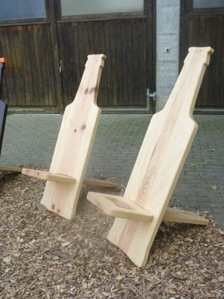 «Gottfried» steck Stuhl rustikal